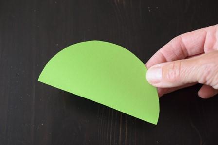 bloem origami vouwen
