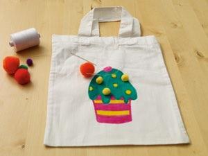 textiel tas tekenen