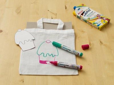 tekenen tas textielstify