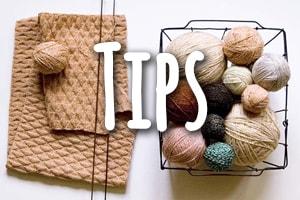 Tips bij breien