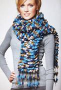 gebreid sjaal van Gnocchi