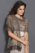 gehaakte sjaal van Inox Lace