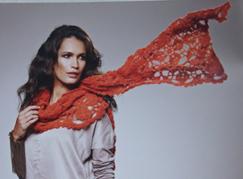 sjaal van Lace Cashmere