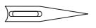 Topstitch naaimachine naald