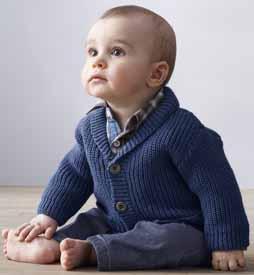 jongensvest van Super Baby Phildar