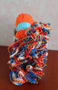 sjaal van Ariana en Ariana Pompon