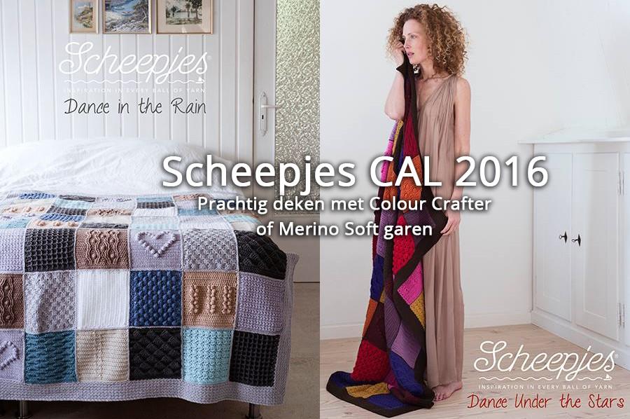 Scheepjes CAL 2016 Last dance on the beach - basis kit en luxe kit