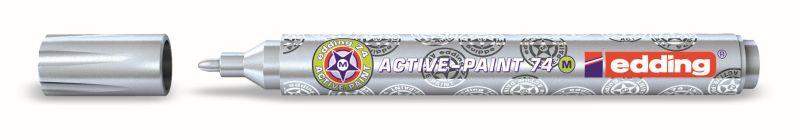 Active-Paint markers van Edding