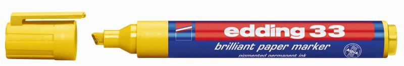 Edding 33 brilliant paper markers