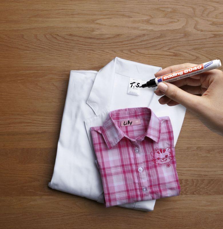 Markeer je kledingetiketten met deze wasgoedmarker