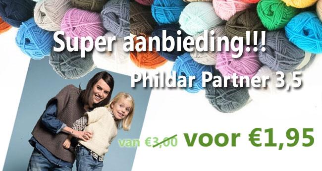 Partner 3,5 Phildar | HobbyGigant.nl