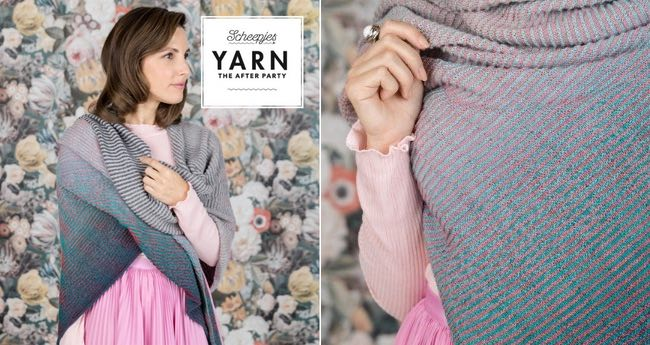 Yarn the after party | Omslagdoek read between the lines | Hobby Gigant