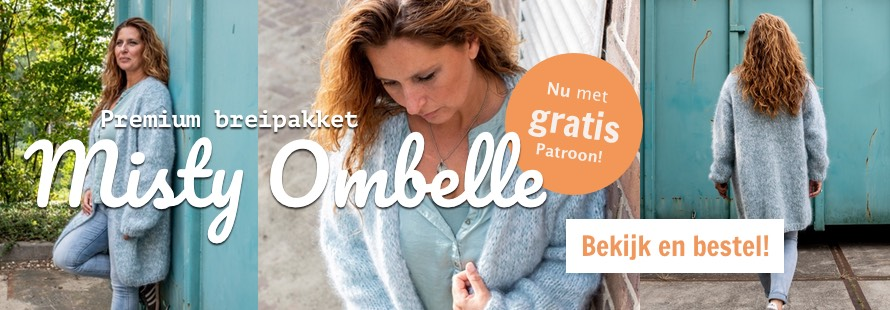 Misty ombelle vest breien gratis patroon