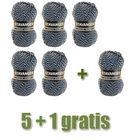 Stavanger  25 - Beijer - 5 bollen + 1 GRATIS   hobbygigant.nl