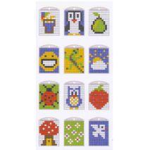 medaillon voorbeelden va Pixelhobby