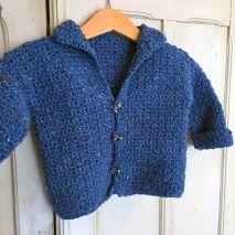 Haakpakket Wuper Tweed Babyvest