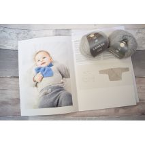 Baby wikkelvestje breien met Como Lamana | hobbygigant.nl