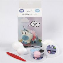 Unicorn Baby Blue Silk Clay | hobbygigant.nl