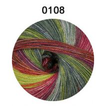 Starwool Lace Color rood-groen 109