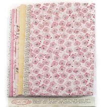 Stoffenset roze - Rinske Stevens Design