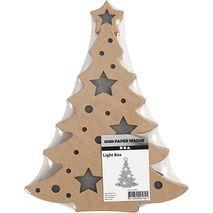 Kerstboom met lichtbox