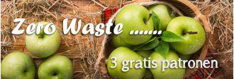 zero waste | 3 gratis patronen | hobbygigant.nl