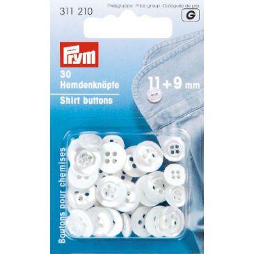 Polyester hemdknopen van Prym