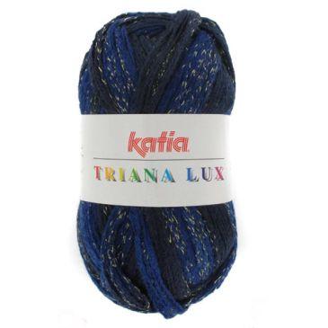 Triana Lux Katia blauw gemeleerd 35