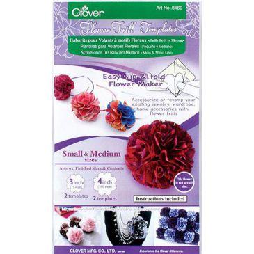 Clover bloemen sjabloon