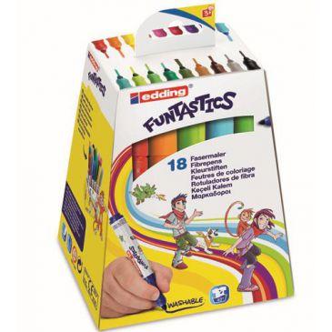 Funtastics kinderstiften van edding stiften