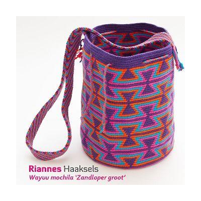 Zelf Mochilas HakenHaak Wayuu Kleurrijke Tas Een F1cKJl
