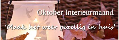 Oktober interieur maand