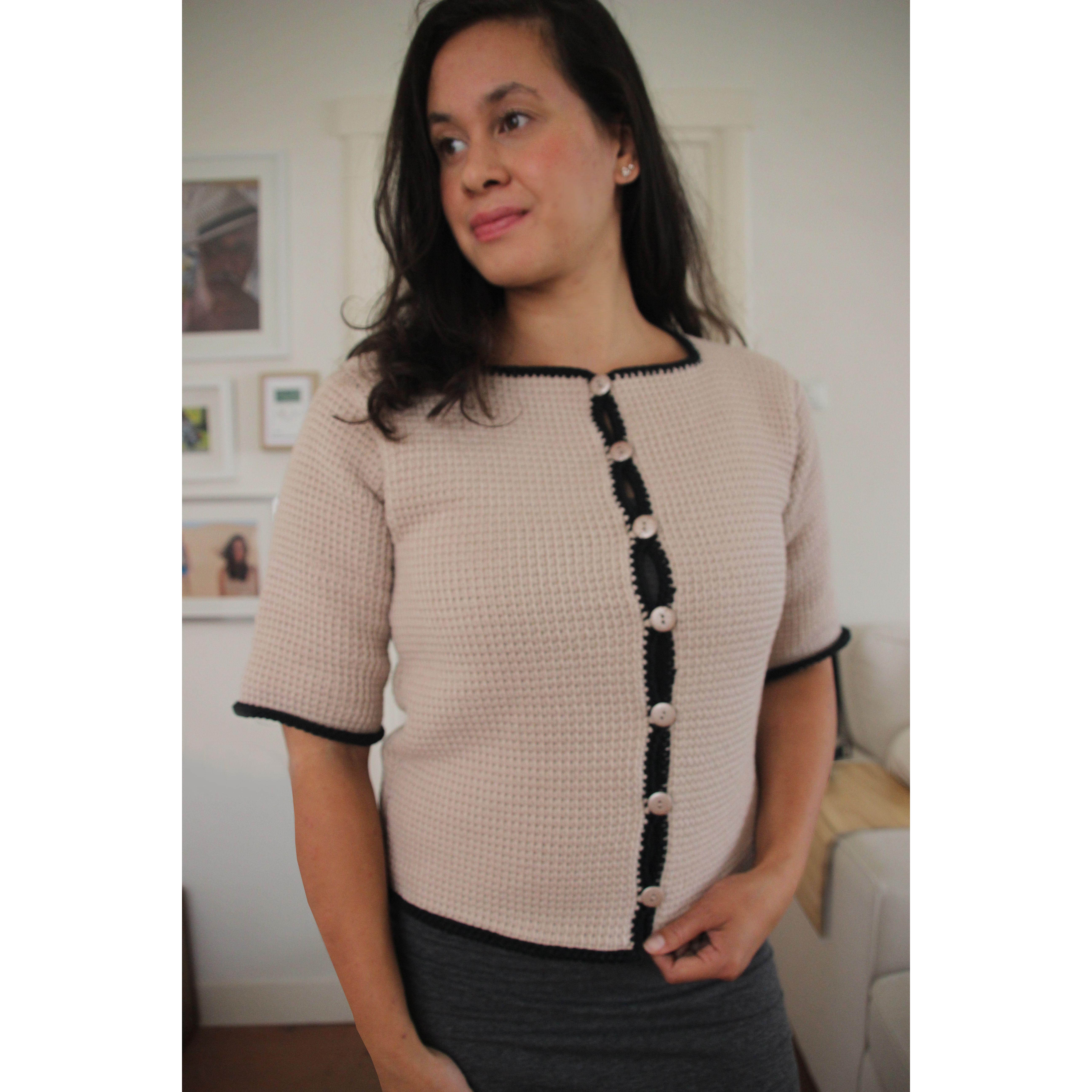 Populair Dames vestje haken - Tunisch haken patroon | Dames | HobbyGigant &GT37