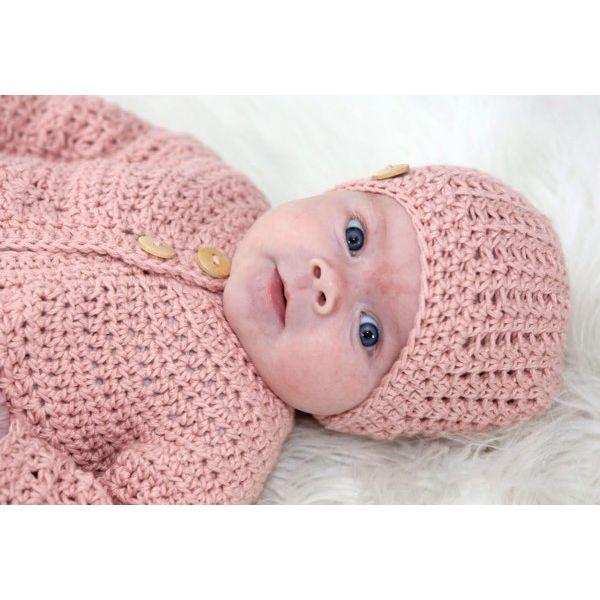 babyvestje haken - meisjesset met vestje en mutsje | linda modderman