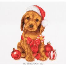 Thea Governeur Christmas Puppy