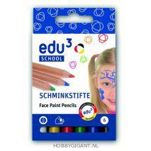 Schmink potloden EDU3