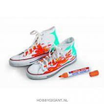 edding sneakers beschilderen