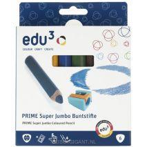 Prime Super Jumbo peuter kleurpotloden edu3