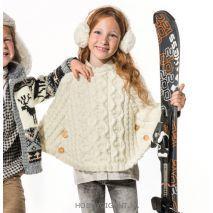 Phildar winter sport 668 hiver poncho