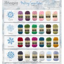 Melting Snowflake Dendrite Winter Kit kleuren