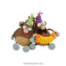 feestbeesten haken Anja Toonen   Hobby Gigant