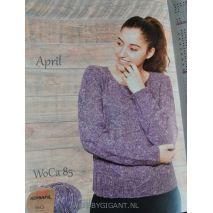 Adriafil Eco Yarn breipatronen hennep garen | Hobby Gigant