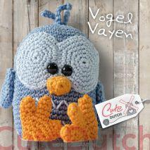 CuteDutch Haakpatroon vogeltje Vayen | Hobbygigant