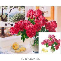 Roses by the Window - Diamond Dotz