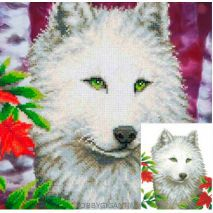 White Wolf - Diamond Dotz