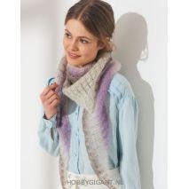 Silkhair sjaal breien | Hobby Gigant