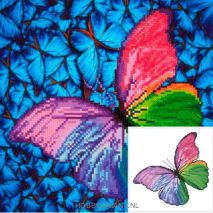Flutter by Pink- Diamond Dot