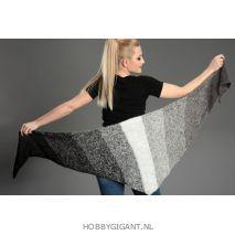 Regenbogen Mohair grijs-zwart 402