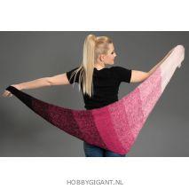 Regenbogen Mohair roze-bordeau 403