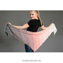 Regenbogen Mohair roze-grijs 410